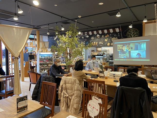 日時:2021年1月28日(木)10:00-11:00 場所:新川崎タウンカフェ、Zoom